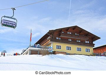 Ski resort Kaprun - Maiskogel Austria