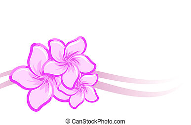 Vector background with beautiful pu