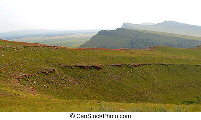 Khakassia chest panorama - Mountain Ridge Chests - natural...