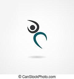 dança, ícone