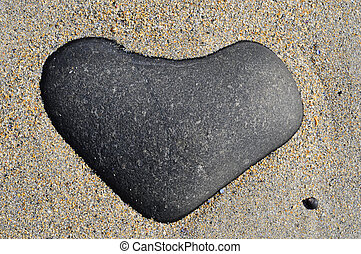 heart stone - heart shaped stone