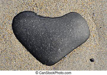heart stone - heart shaped stone