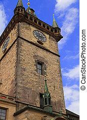 Old clock tower of Prague