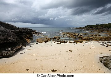 New South Wales - Australia - beach in Jervis Bay in New...