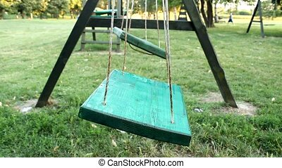 swing in the kids park