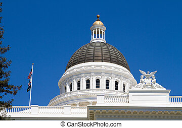 California Statehouse Dome - California statehouse dome...