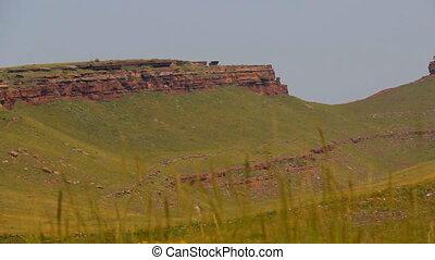 Khakassia chest panorama - Mountain Ridge Chests - natural...