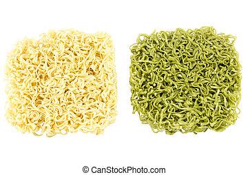 Japanese Noodle on white background