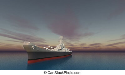 aegis-equipped destroyer and horizon