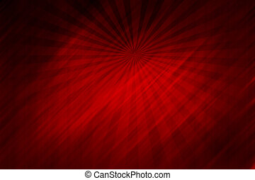 Red background - Abstract red background with rays, texture