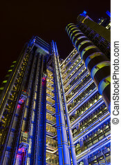 Lloyds of London building - Lloyds of London head office in...