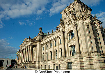 Reichstag Berlin - German Parliament - Reichstag in capital...