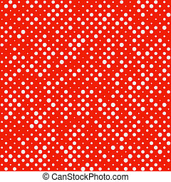 Seamless Polka dot pattern