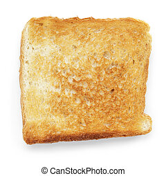 toasted slice of white bread - toasted slice of white toast...