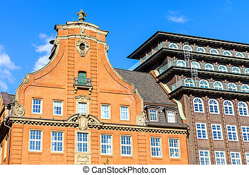 Historic buildings in Hamburg
