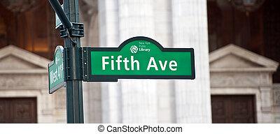 新しい, 大通り, ヨーク, 第5
