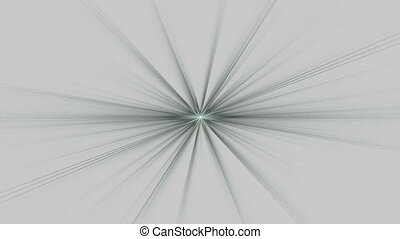 Gray Star Shining on Gray, Seamless Loop Animated Fractal