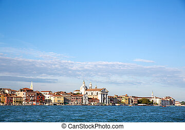View on Venice - View on venice from the entry of the great...