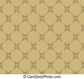 quilted fabric - light brown pattern seamless