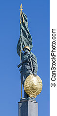 Monument to the Russian soldier