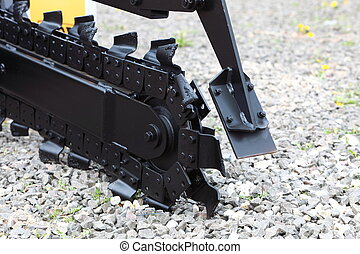 Trench digger machine for trenching - Trench digger industry...