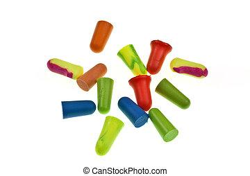 Colorful Ear Plugs