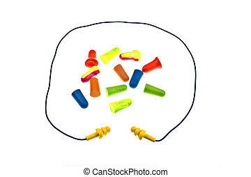 Reusable Ear Plugs With Cord