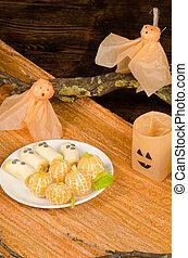 Fruity Halloween - A fruity Halloween dish made for children...