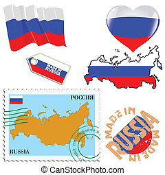 national colours of Russia