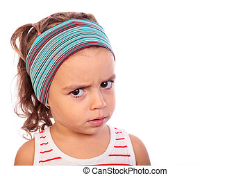girl scolding - picture of a beautiful girl angry