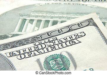 US dollar one hundred bill