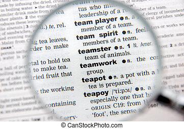 Definition of teamwork