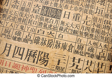 Chinese almanac - Background of chinese almanac