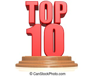 Top 10 - Hi-res original 3d rendered computer generated...