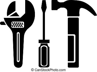 Work tools  vector illustration eps 10