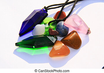 Various crystals and stones - Crystals and chakra stones