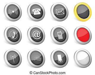 3d icons communication