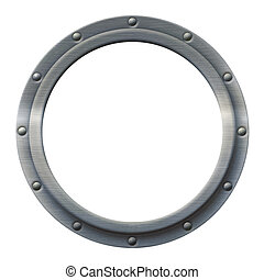 Porthole Iron - Iron porthole that can be imaged with any...