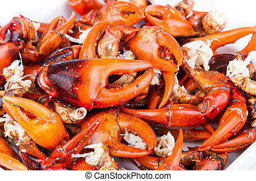 Crab Pincers - boiled