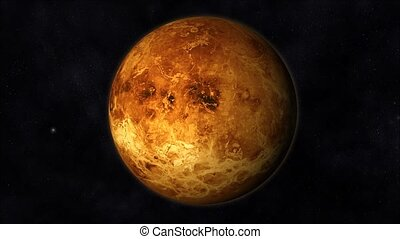 Venus Animation - Animation of the Planet Venus