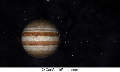 Jupiter Animation - Animation of the Planet Jupiter