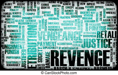 Revenge and Plotting Justice in Grunge Concept