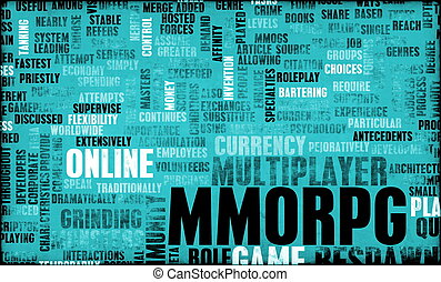 MMORPG - A Massively Multiplayer Online Role Playing Game