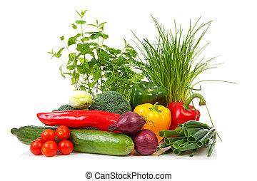 Bunch of fresh vegetables