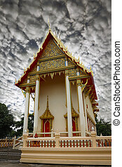 Buddism temple - Public location in Thailand - Beautyful of...