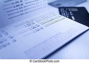 savings deposit passbook - Balance of savings deposit...