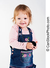 portrait of adorable young girl - portrait of a little 22...