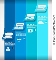 Infographics background to display your data - Infographics...
