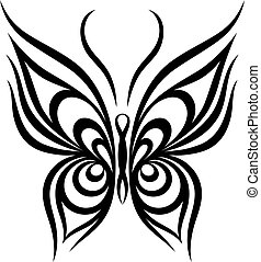 mariposa,  vector