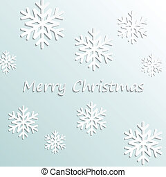 Simple vector merry christmas background